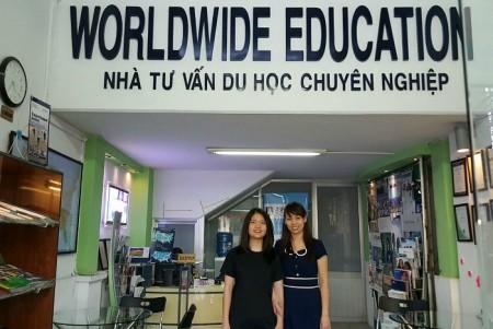 Du học Worldwide Education nằm trong danh sách 94 công ty nhận chứng nhận đăng ký hoạt động TVDH