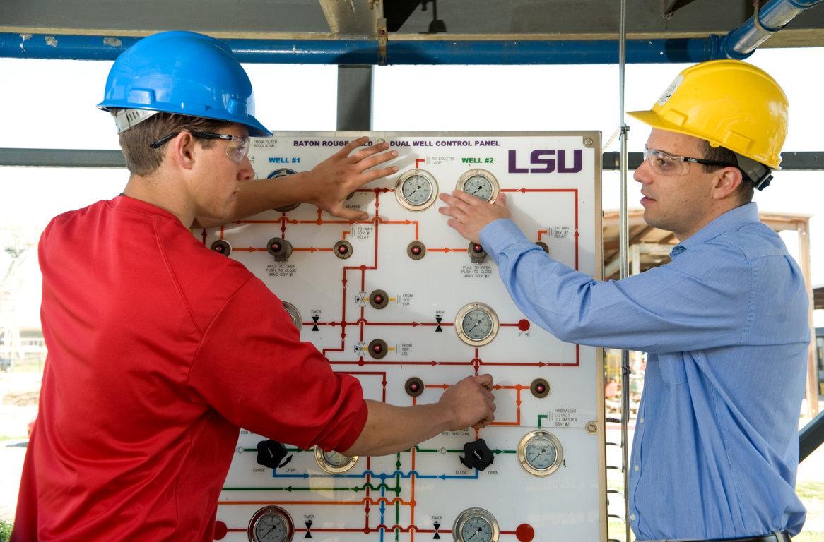 Học ngành Kỹ sư dầu khí tại LSU